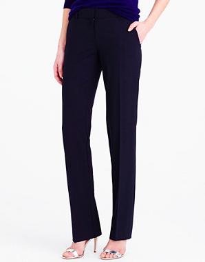 J.Crew wool black pants