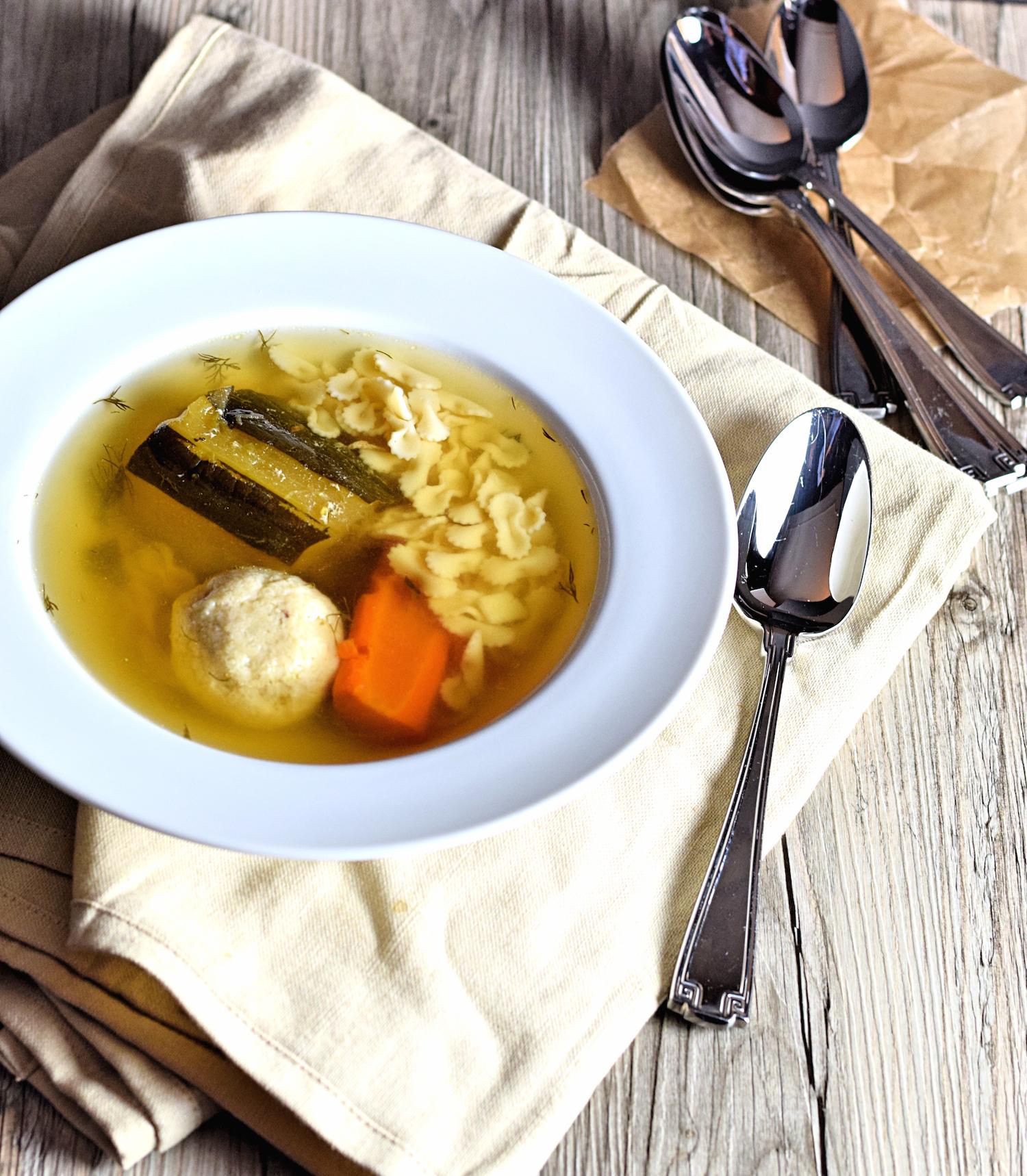 classic chicken soup recipe