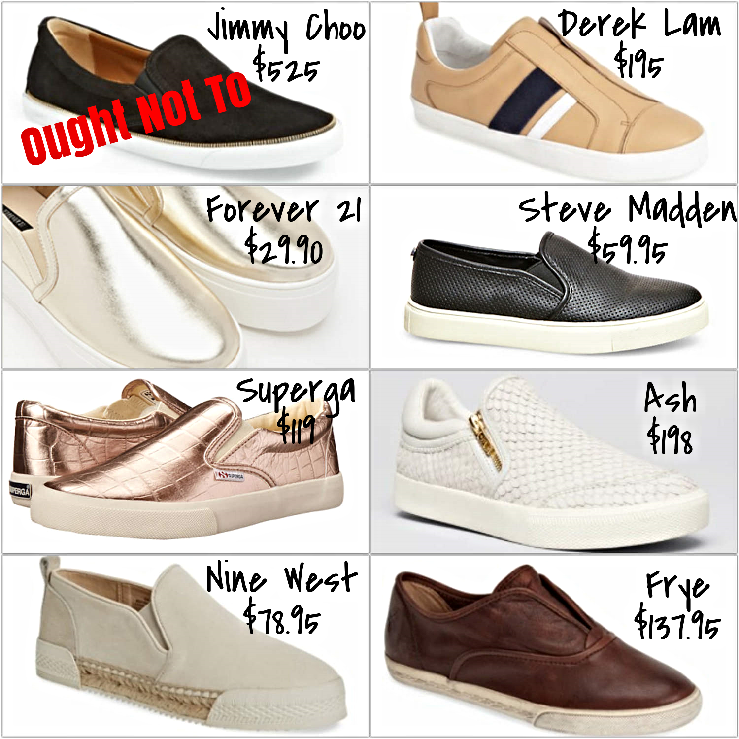 affordable solid slip-on sneakers