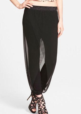 Nordstrom mesh overlay pants