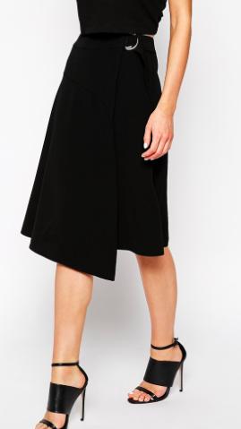 whistles wrap skirt