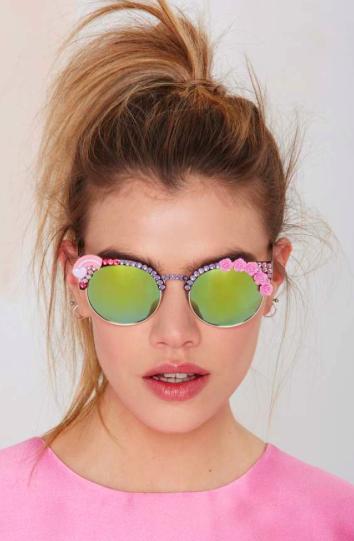 Nasty Gal mirrored sunglasses
