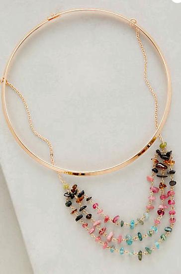 Anthropologie jewel necklace