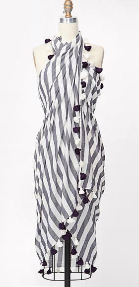 Ann taylor striped wrap