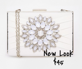 New Look Clear Clutch