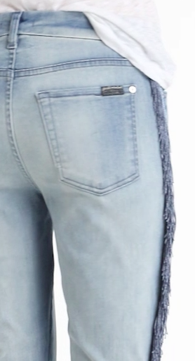 7 for all mankind Fringe Jeans