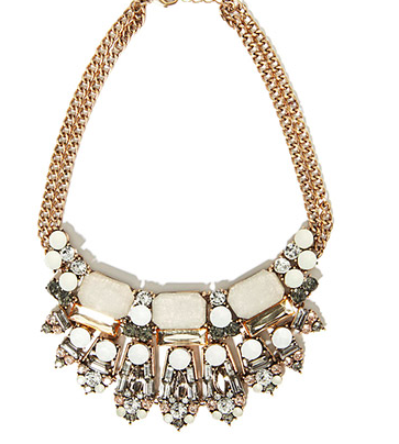 Forever 21 stone stament necklace