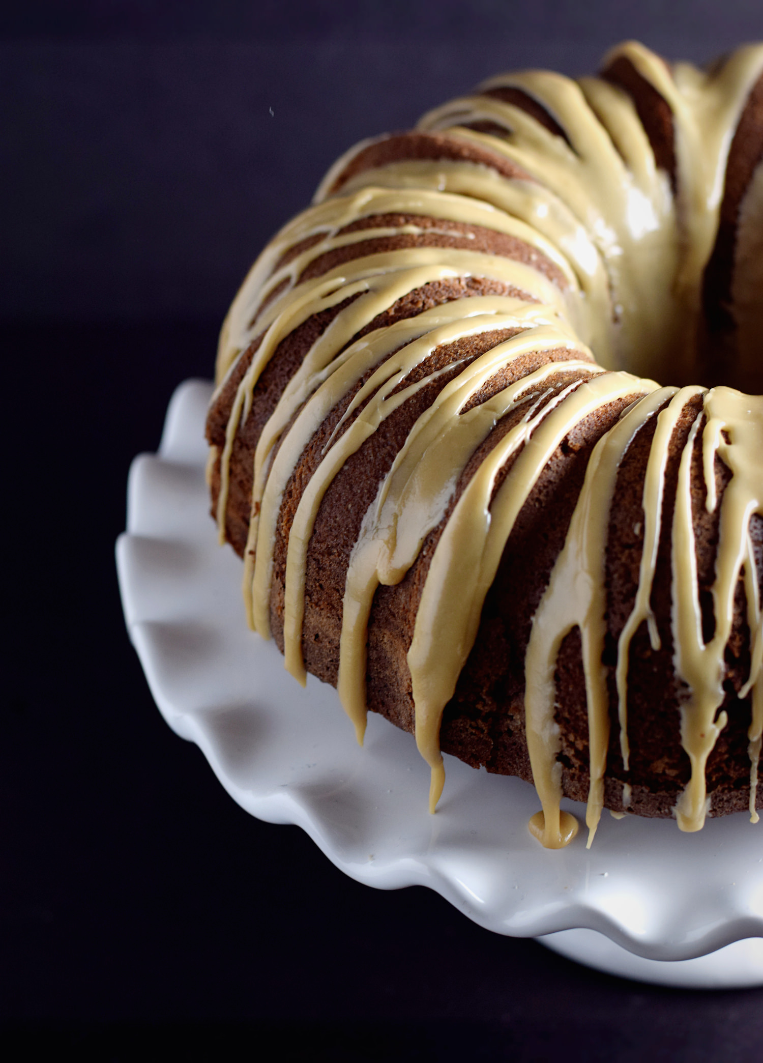 Coffee Chocolate Bundt Cake – moist, delicious, easy coffee cake with a subtle hint of chocolate. Will become your new favorite go-to cake!   trufflesandtrends.com