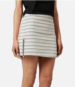 Topshop boucle mini skirt