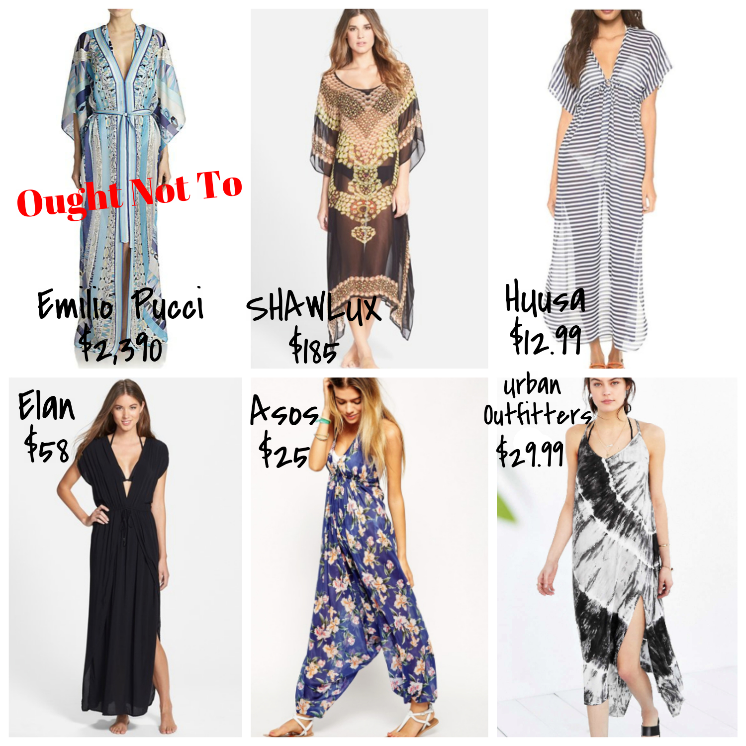 affordable maxi beach cover-ups