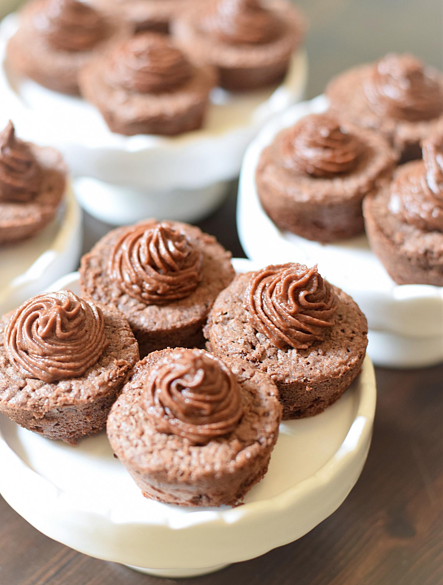 mini lava cakes