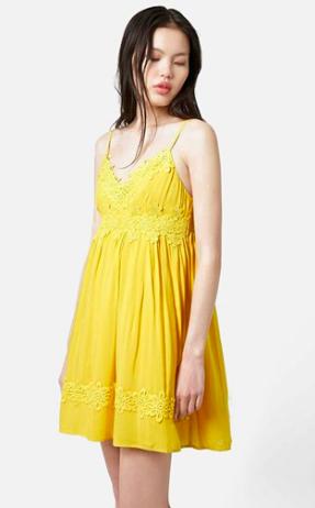 Topshop Babydoll Dress