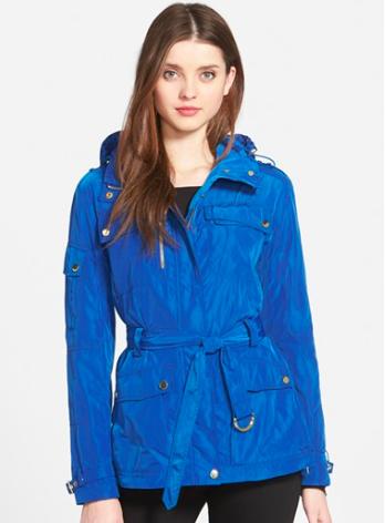 Trina Turk cobalt jacket