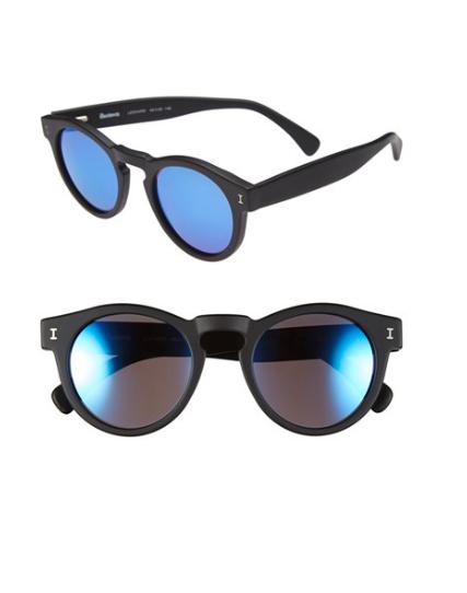 illesteva mirrored sunglasses