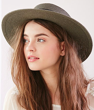 Forever 21 straw hat