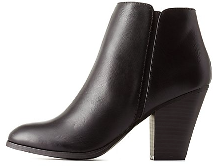 Charlotte russe heeled booties