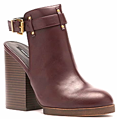 Forever 21 slingback booties