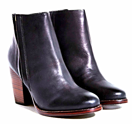 Urban Outfitters heeled black booties