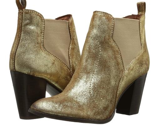 seychelles gold booties