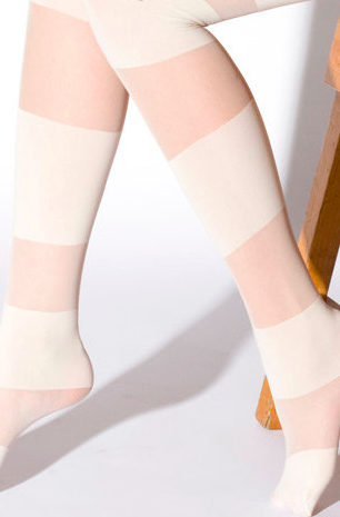 American apparel sheer striped tights