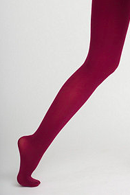 American Apparel maroon tights