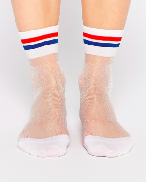 Monki sheer socks