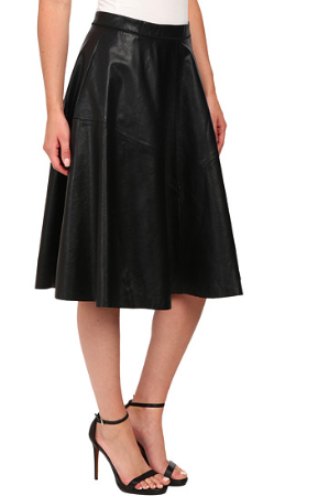 Blank NYC Vegan Leather A Line Skirt