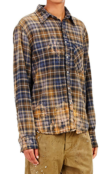 Axel flannel button down