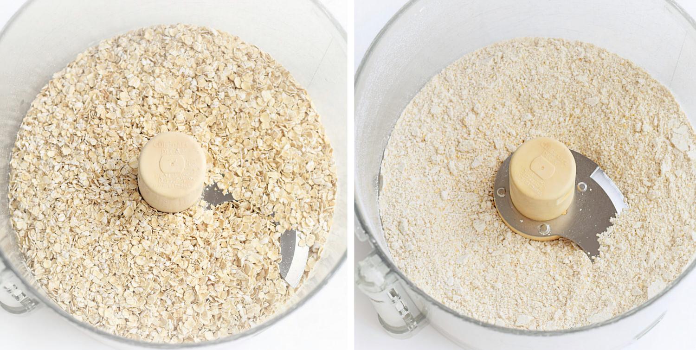 how to make oat flour at home | trufflesandtrends.com