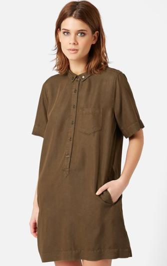 Topshop relaxed shirtdress
