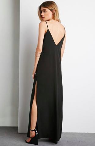 Forever 21 maxi slip dress