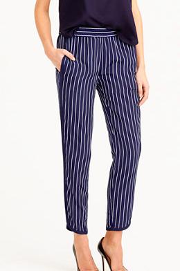 J.Crew pinstripe pants