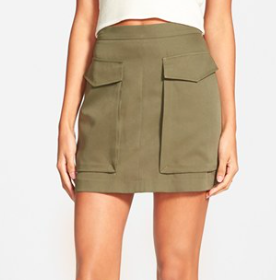 Soprano cargo skirt