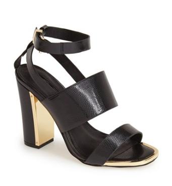 Topshop heeled sandals