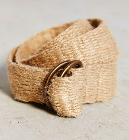Urban Outfitters straw belt