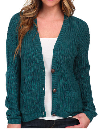 Billabong chunky knit cardigan