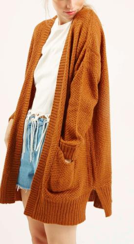 Topshop chunky knit cardigan