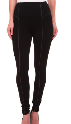 Lysse leather trim leggings