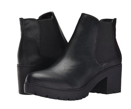 Steve Madden chunky black boots
