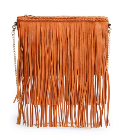 Sole Society fringe crossbody bag