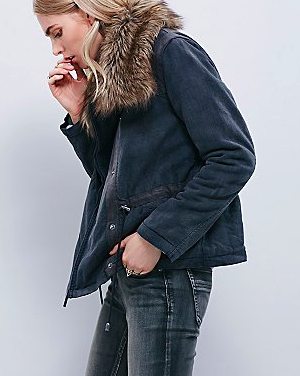 Free People parka jacket