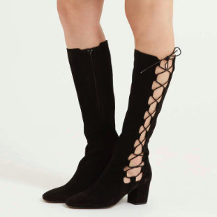 Topshop tall lace up boots