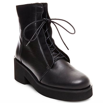 Steve Madden chunky lace up boots