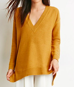 Forever 21 v-neck knit sweater