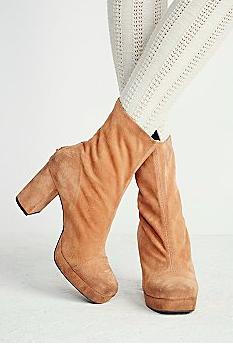 Free People suede mid boots
