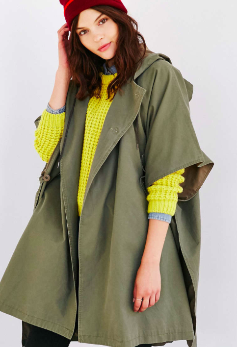 Urban Outfitters poncho jacket