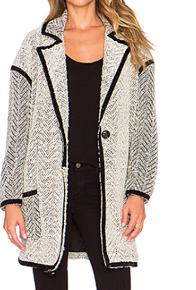 Revolve Clothing knit jacket