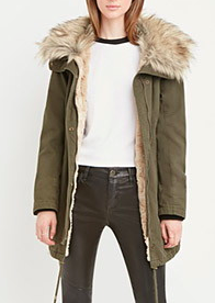 Forever 21 parka jacket