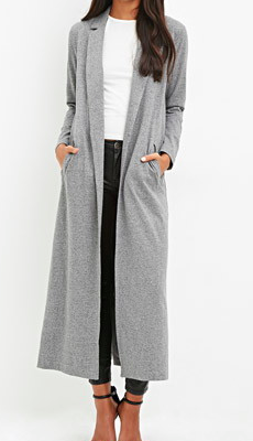 Forever 21 very long jacket