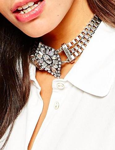 New Look gemstone choker